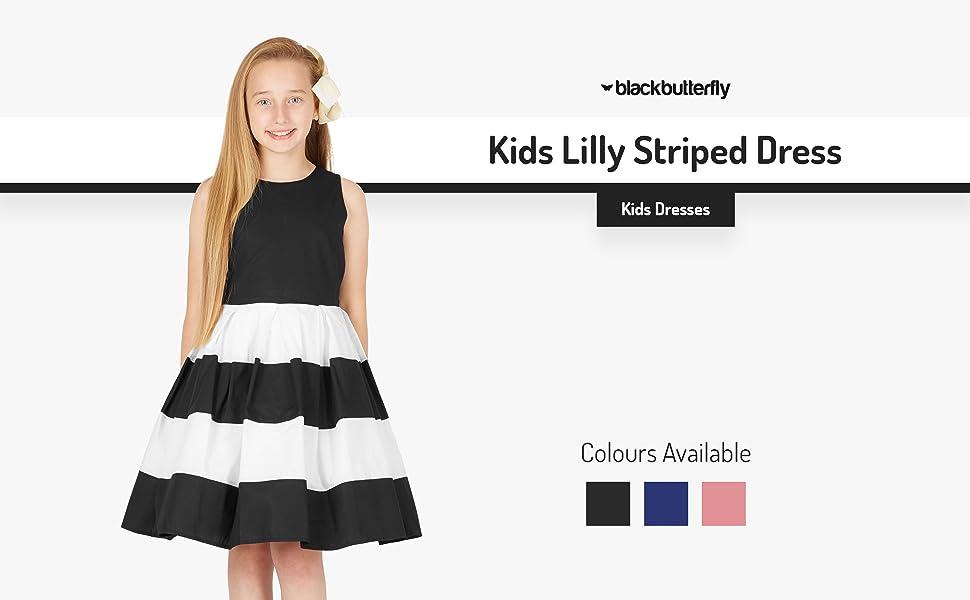 Kids Lilly Striped Dress