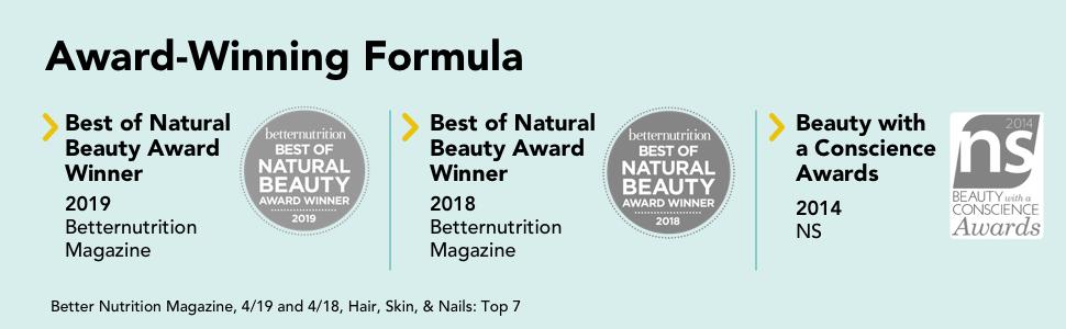 hair fix, natural beauty, beautiful hair, award winning, better nutrition