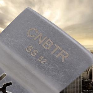 52 mm libération rapide en acier inoxydable Oscillant plat Grattoir Set de 10