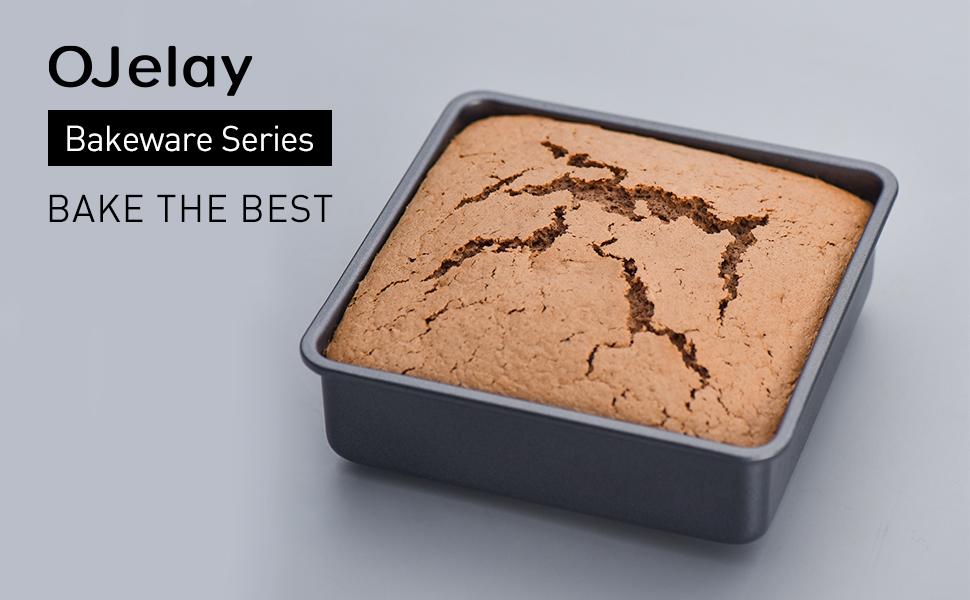 square cake pan 8 inch cake baking pan