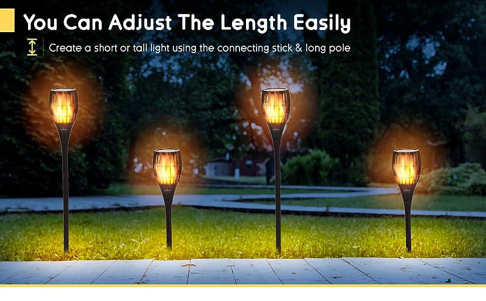 adjust the length easily