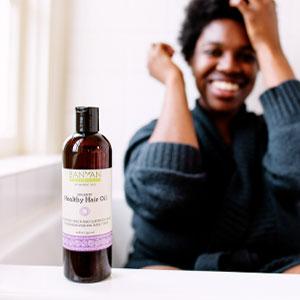 Banyan Botanicals Healthy Hair Oil