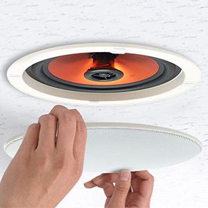 ceiling speakers  installtion