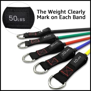 TheFitLife resistance bands