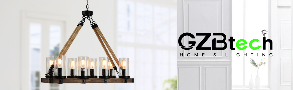 gzbtech pendant lights over table