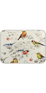 Birds Dish Drying Mat
