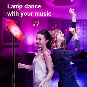 Music Function Of Smart Wifi Floor Lamp