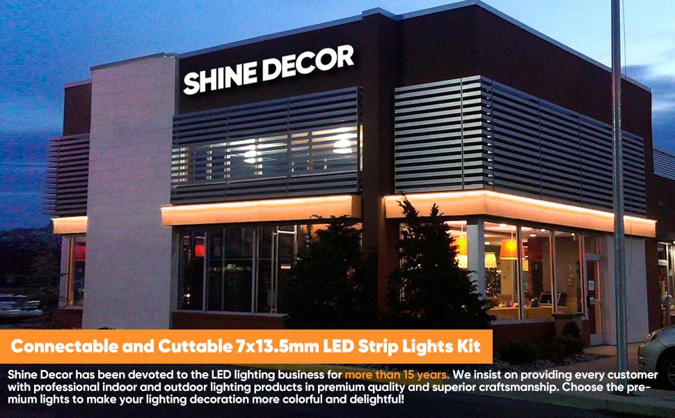 Shine Decor LED Strip Lighting