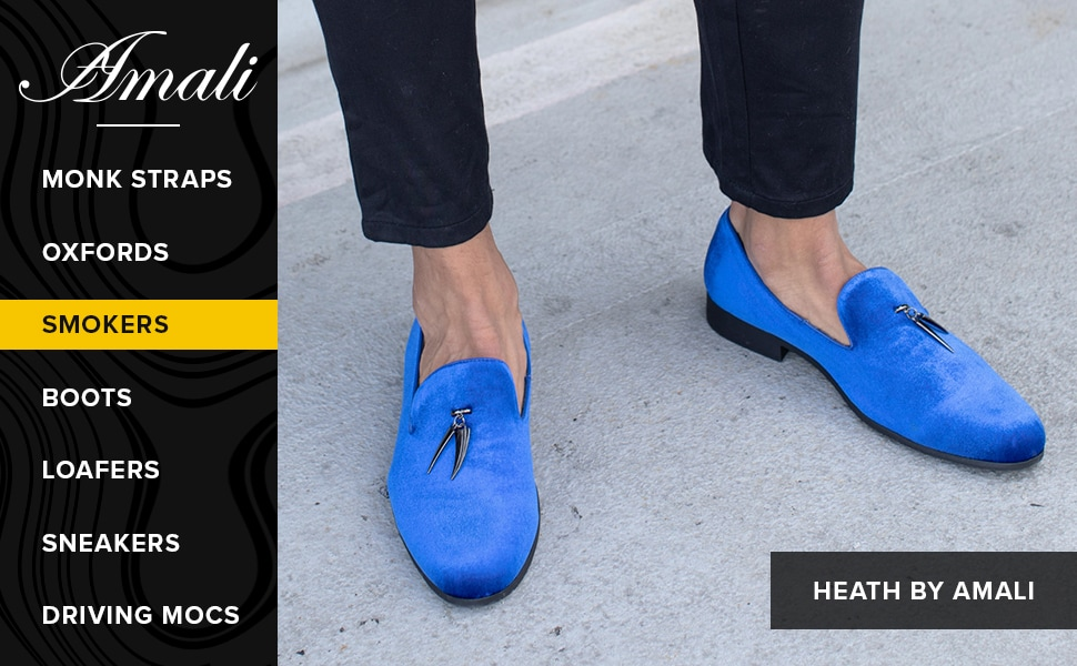 amali, heath, shoes, men's shoes, fashion, smokers