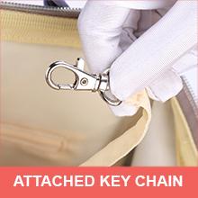 Key chain holder in Motherly Diaper Bag