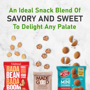 healthy variety snacks