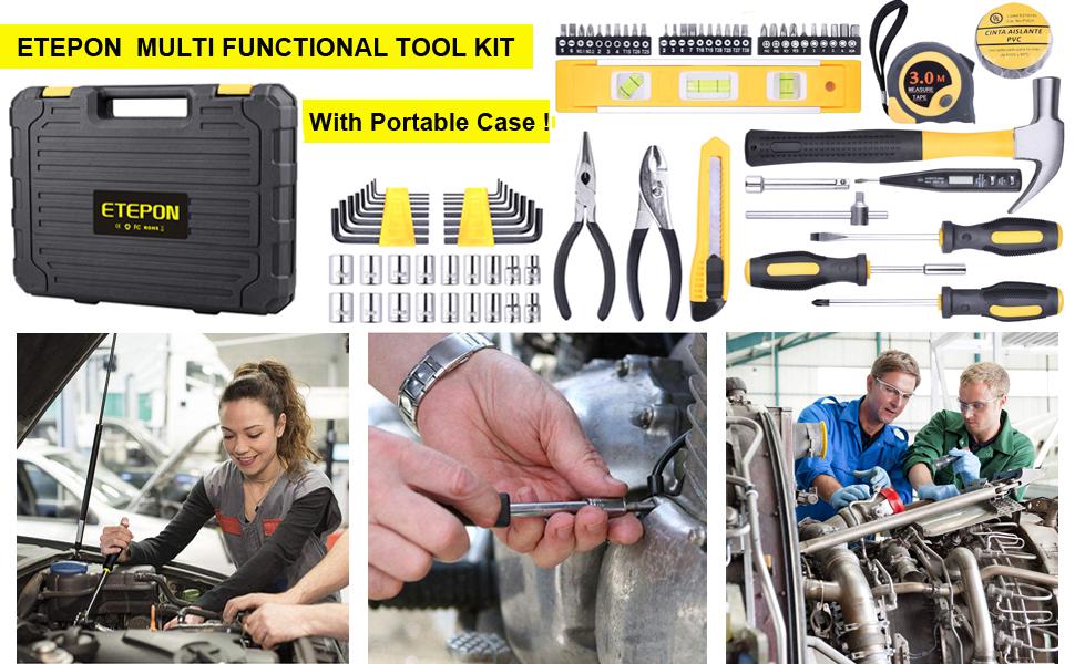 78 Pcs tool kit
