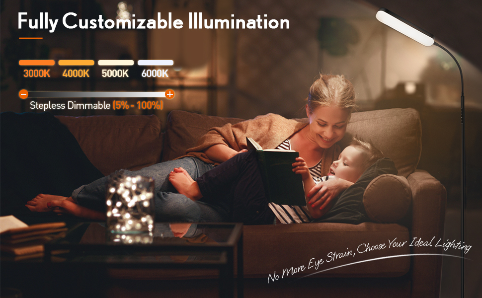 Outon LED Floor Lamp