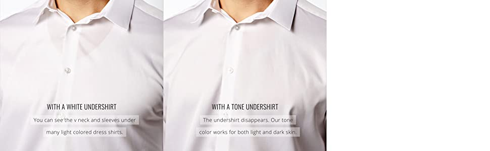 invisible undershirt