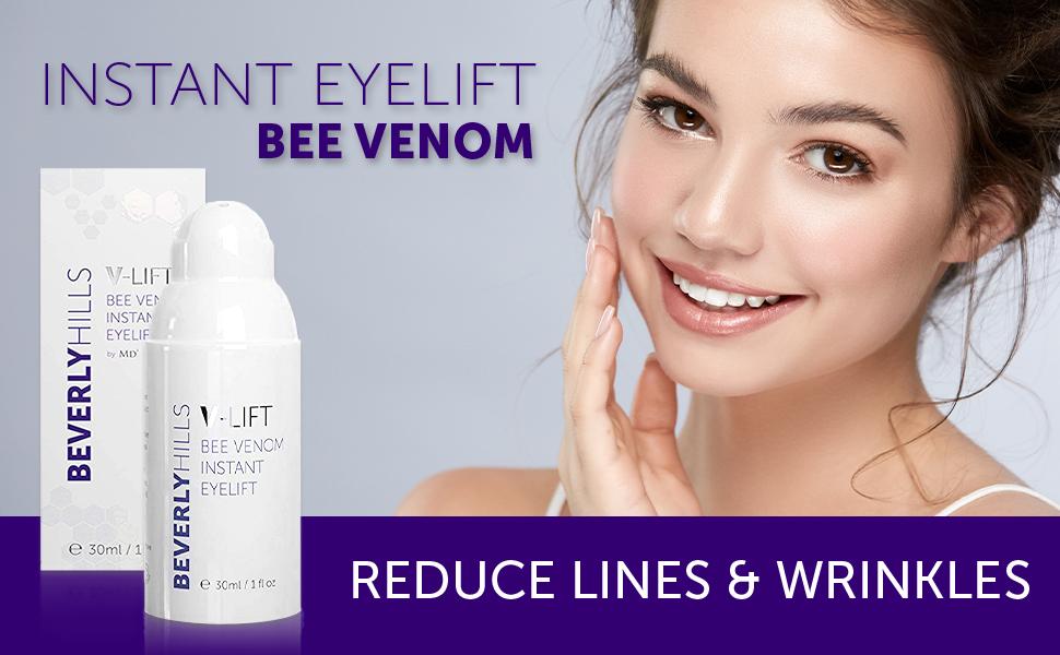 Beverly Hills V-Lift Instant Eye Lift by MD3 Bee Venom Serum