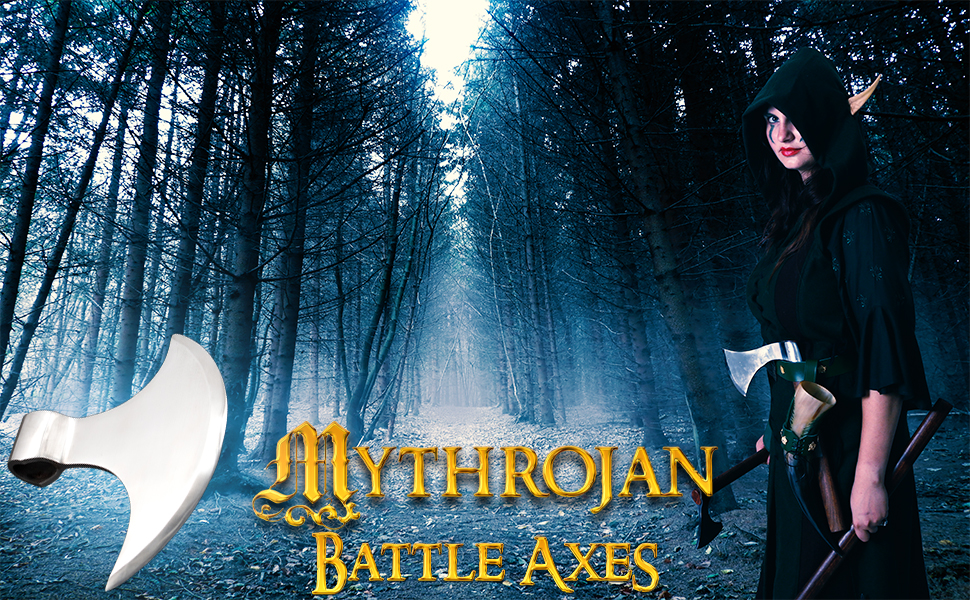 Mythrojan behourd HMB AXE viking IMCF shieldmaiden reenactment knight medieval renaissance renfair