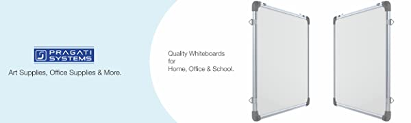pragati systems prima genius magnetic whiteboard for kids home office school 1.5x2 2x3 3x4 feet