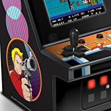 My Arcade Rolling Thunder Micro Player - Fully Playable Mini Arcade - Collectible - Full Color Display - External Speaker - Volume Buttons and ...