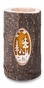 christmas candle holder wood candle holder wooden candle holder tealight candle holderolder