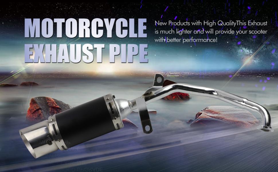 Exhaust Muffler Pipe