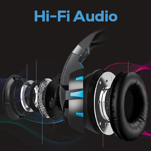 Game headphones with Hi-Fi audio