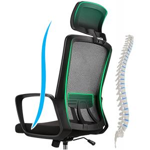 Ergonomic backrest design