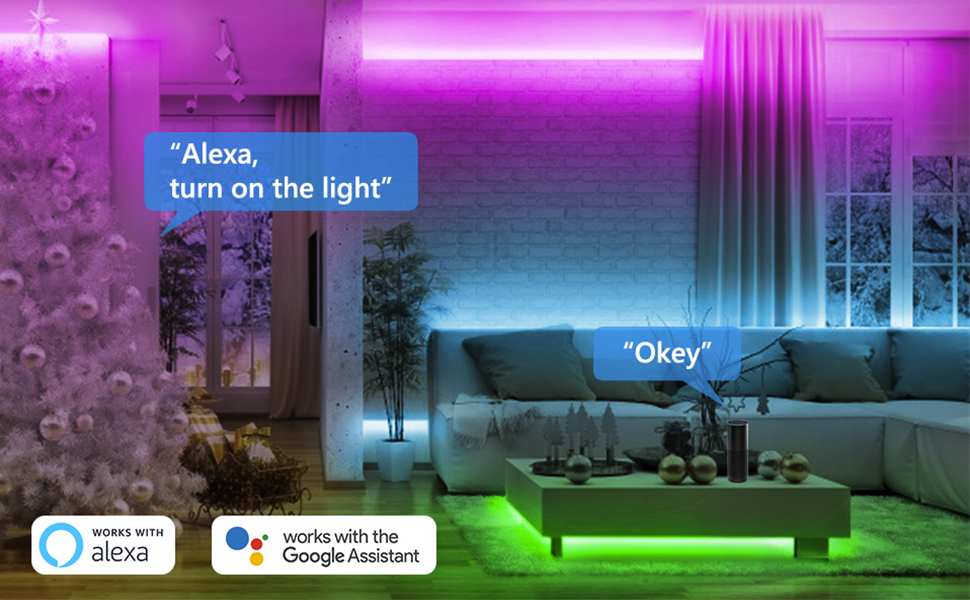 Starstrips RGB 5050 LED strip light