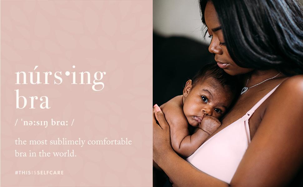 Nursing Bra definition with image