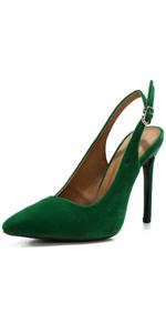 black slingback heels for women