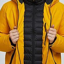 rain ski jacket winter coat for men