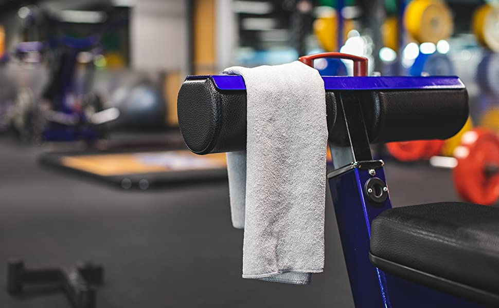 Spa Towel, Workout Towel, Exercise Towel, The Rag Company, Microfiber Towel