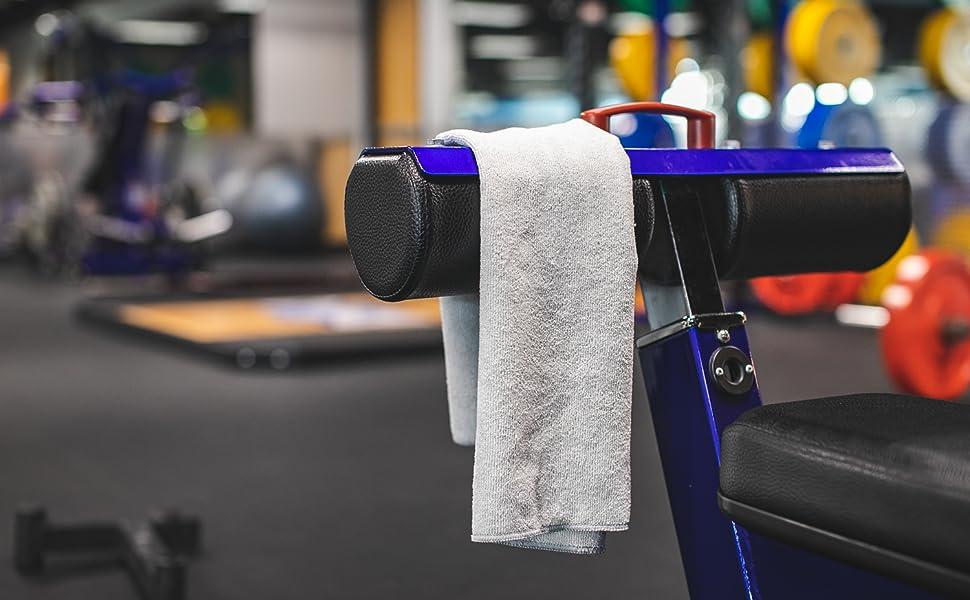 Spa Towel, Workout Towel, Exercise Towel, The Rag Company, Microfiber Towel