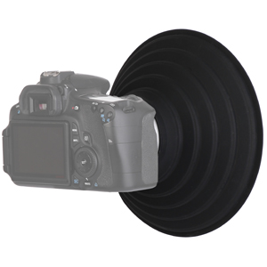Perfect for Shooting Clear Crisp Glare-Free Images Through Window//Glass Fits 50mm to 70mm Lens Filter Thread Collapsible Rubber Soft Stretchy DSLR Lens Hood Neewer Anti-Reflective Lens Hood