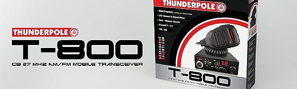 Thunderpole T 800 Lange Orbitor Mag Kit Antenne 12 Elektronik