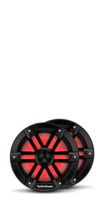 8 inch marine speaker with lights