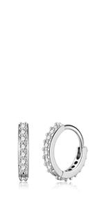 huggie hoop earrings for women