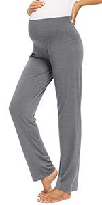 Glamix Maternity Wide Leg Lounge Pants