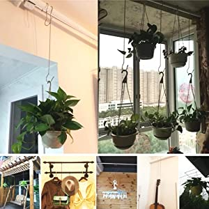 s Hooks for Hanging,Wind Spinners Outdoor Metal,Hooks for Hanging,Hanging Hooks,Plant Hanger,Small Hooks,tie Hanger,Wall,Hook,Coat Hooks,Towels Hooks 12Pc Wind Chimes Outdoor,Wind Chime Parts