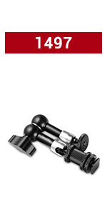 SMALLRIG Ball Head with Cold Shoe Mount 1497