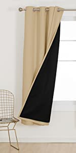 white blackout curtains double layer total blackout 100 bedroom living room curtains