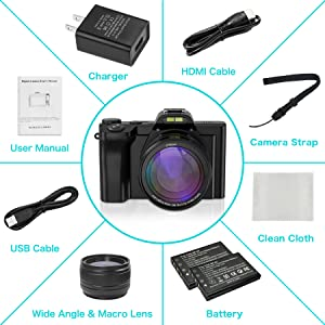 digital camera package