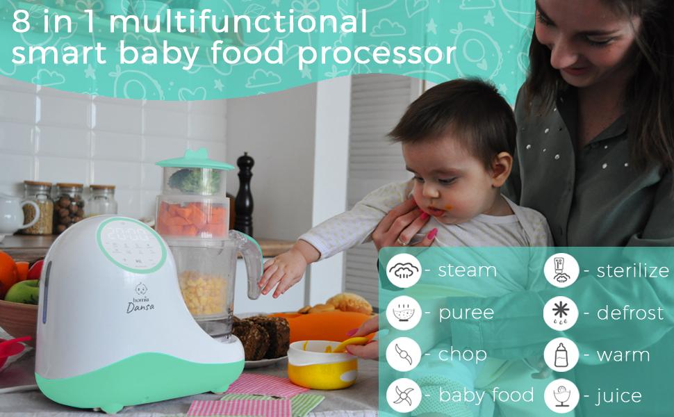 homia dansa baby food processor