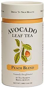 Avocado Leaf Tea Peach Blend