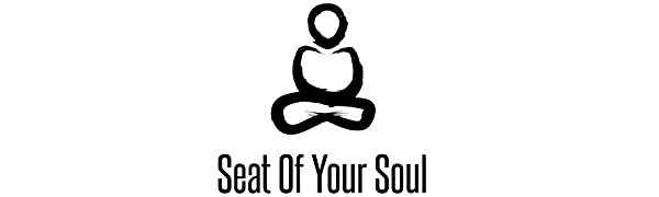 Seat Of Your Soul Logo - Buckwheat Filled Meditation Cushion Made From Organic & Vegan Material