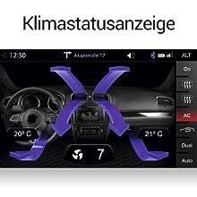 ZENEC Z-E2055: Anzeige von Klimastatus / Climatronic bei VW, Skoda und Seat