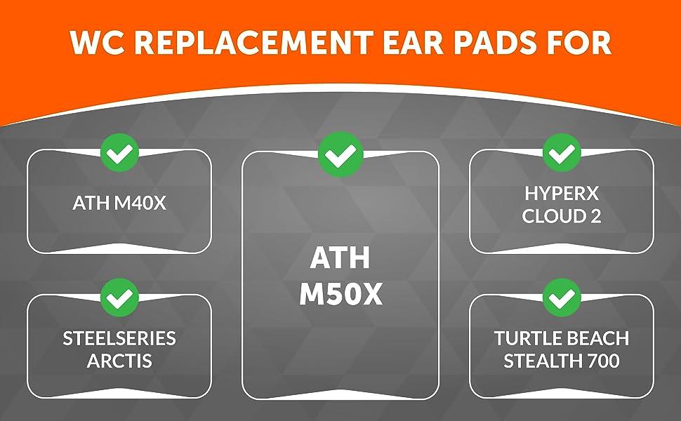 black camo hm5 brainwavz ear pads