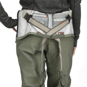 freestone Z womens ladies stockingfoot full length waders suspenders fishing angler comfortable