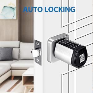 auto locking smart lock