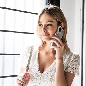 defense clear iphone 11 raised bezel lip prevent screen crack break fall pocketable slim speaker