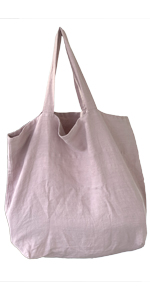 Leinentasche groß rosé-lavender rosa pink Qualität Bag Stella Luzia Marie Shopping Einkauf Tasche
